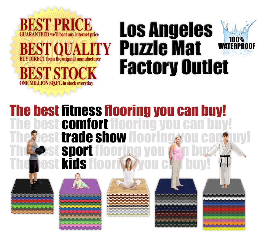 Softfloor.com - Alessco Inc. - Interlocking Puzzle Mats Factory Outlet in North Hollywood, California